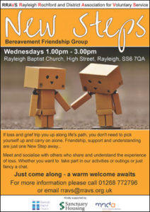 New Steps Friendship Group