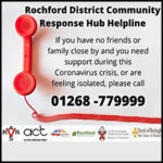 Rochford Coronavirus Action – 01268 779999