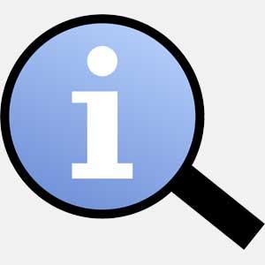 information logo image