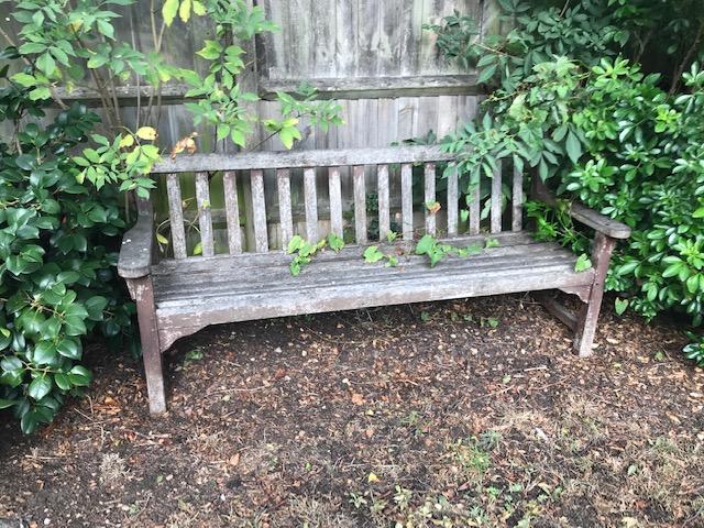 garden bench image